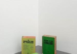 Claire Fontaine, _Brikbats_, 2015, brick, brick fragme…l digital print